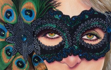 My Queen 2014 Embellished  Limited Edition Print by Scott Jacobs
