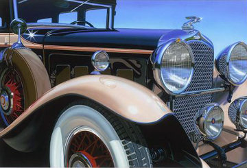 Marmon Big Eight 2015 Limited Edition Print - Scott Jacobs