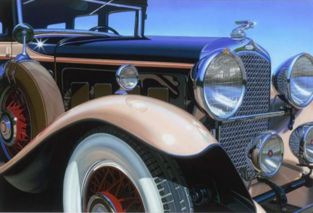 Marmon Big Eight 2015 Limited Edition Print by Scott Jacobs