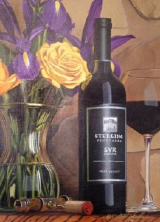 Vintner\'s Reserve 2006 31x38 Original Painting - Scott Jacobs
