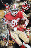 Jerry Rice Golden Rice 2016 25x35 Original Painting by Joshua Jacobs - 0
