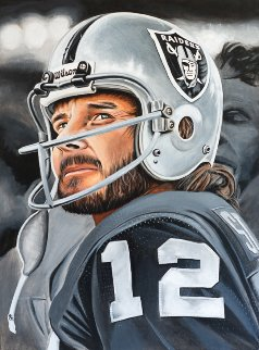 Kenny Stabler The Snake 2016 24x29 Original Painting by Joshua Jacobs