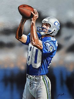 Jedi Master 2016 25x35 Steve Largent Original Painting by Joshua Jacobs