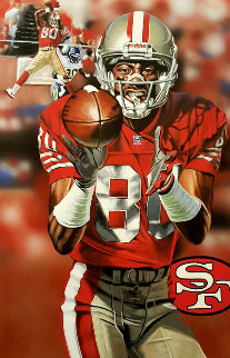 Focused Jerry 2016 25x35 Original Painting by Joshua Jacobs