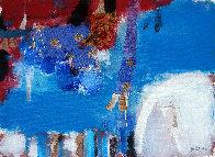 Juego De Voces 2019 9x13 Original Painting by Jos Diazdel - 0