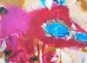 Anémona 2019 9x13 Original Painting - Jos Diazdel