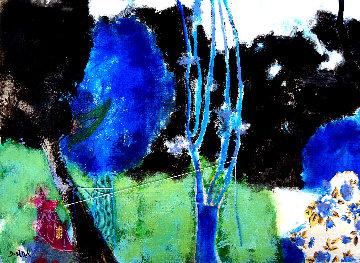 Injerto De Puente N. 4 2020 13x10 Original Painting - Jos Diazdel
