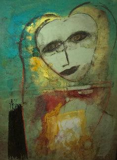 Lucinda  2007 68x89 Original Painting -  Jamali