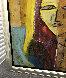 Sarah's Heart 2005 45x45 Original Painting by  Jamali - 2