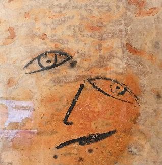 Untitled Painting 2004 31x31 Original Painting by  Jamali