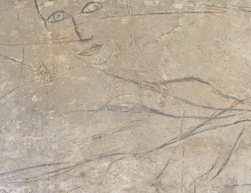Jasmine 2001 60x103 Mural Original Painting by  Jamali