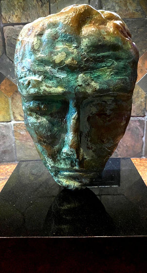 Dr. Faustus Bronze Sculpture 2001 20 in by  Jamali