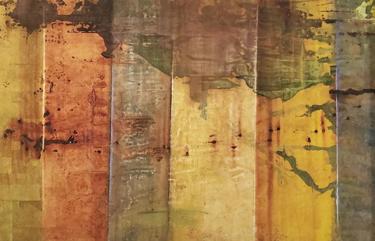 Leonardo's Wall 38x56 Huge  Limited Edition Print by  Jamali