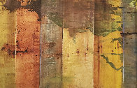 Leonardo's Wall 38x56 Huge  Limited Edition Print by  Jamali - 0