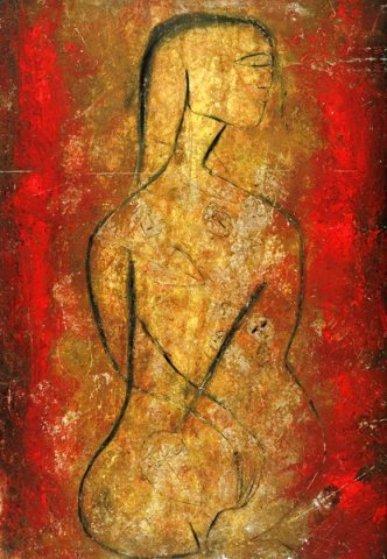 Fire Sermon I Limited Edition Print by  Jamali