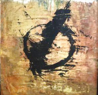 Natron 53x53  Huge Original Painting -  Jamali
