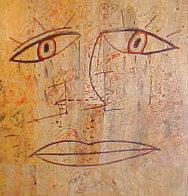 Crying 24x24 Original Painting by  Jamali - 0