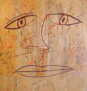 Crying 24x24 Original Painting -  Jamali
