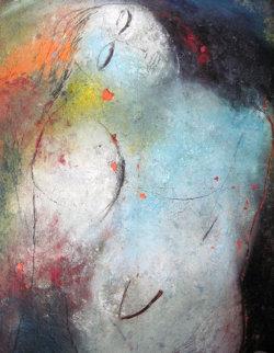 Dream 1997 53x39 Original Painting by  Jamali
