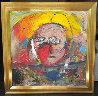 Untitled Painting 2001 45x45 Original Painting by  Jamali - 1