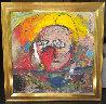Untitled Painting 2001 45x45 Original Painting by  Jamali - 2