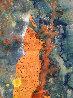 Untitled Portrait 11095  2006 88x65 Super Huge  Original Painting by  Jamali - 2