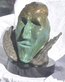 Icarus Bronze Sculpture 14 in  Sculpture -  Jamali