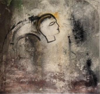 Mask 84x92 Original Painting by  Jamali