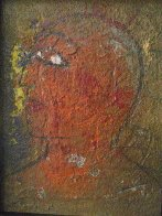 Profile 1988 33x27 Original Painting by  Jamali - 1