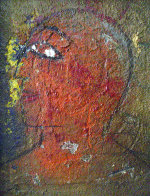 Profile 1988 33x27 Original Painting by  Jamali - 0