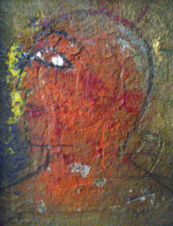 Profile 1988 33x27 Original Painting by  Jamali
