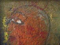Profile 1988 33x27 Original Painting by  Jamali - 2