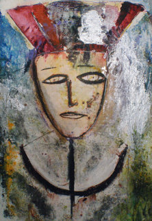 Jack 84x61 Huge Original Painting -  Jamali