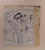 Self Portrait 1996 23x20 Works on Paper (not prints) by  Jamali - 1