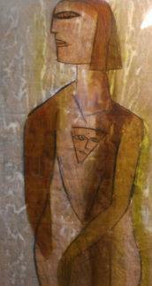 Alexandria Collection, Set of 3 Paintings 63x45 Original Painting -  Jamali