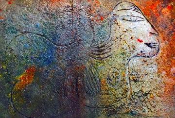 Guide 2002 39x53 Original Painting by  Jamali