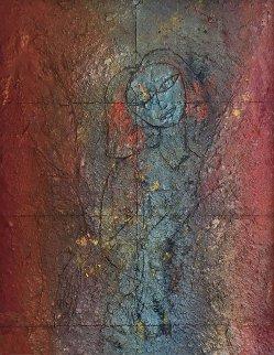 Malak 2003 89x65 Mural Original Painting by  Jamali