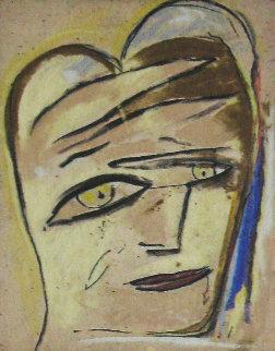 Portrait 2005 36x42 Original Painting by  Jamali