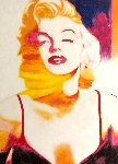 Marilyn Pose 6 2007 45x35 Original Painting - James F. Gill