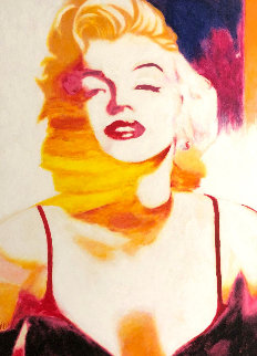Marilyn Pose 6 2007 45x35 Original Painting by James F. Gill