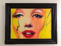 Untitled Painting - Marilyn Monroe 2007 29x37 Original Painting by James F. Gill - 1