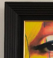 Untitled Painting - Marilyn Monroe 2007 29x37 Original Painting by James F. Gill - 3