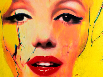 Untitled Painting - Marilyn Monroe 2007 29x37 Original Painting by James F. Gill