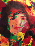 Jackie 2007  58x43 Original Painting - James F. Gill