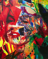 Scarlet Marilyn 2007 59x43 Original Painting by James F. Gill - 0