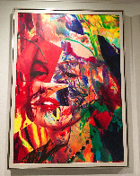 Scarlet Marilyn 2007 59x43 Original Painting by James F. Gill - 1