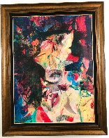Rise to the Depths of Beauty ( Marilyn Monroe) 2007 55x43 Original Painting by James F. Gill - 1