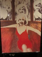 Marilyn in Red AP 1995 Photography by James F. Gill - 1