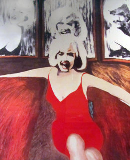 Marilyn in Red AP 1995 Photography - James F. Gill