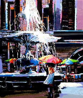 Fountain De Trevi PP Limited Edition Print - James Groody